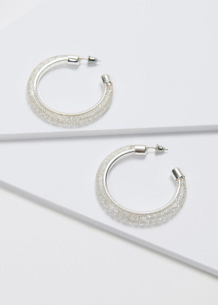 Hidden Crystal Earrings, , hi-res
