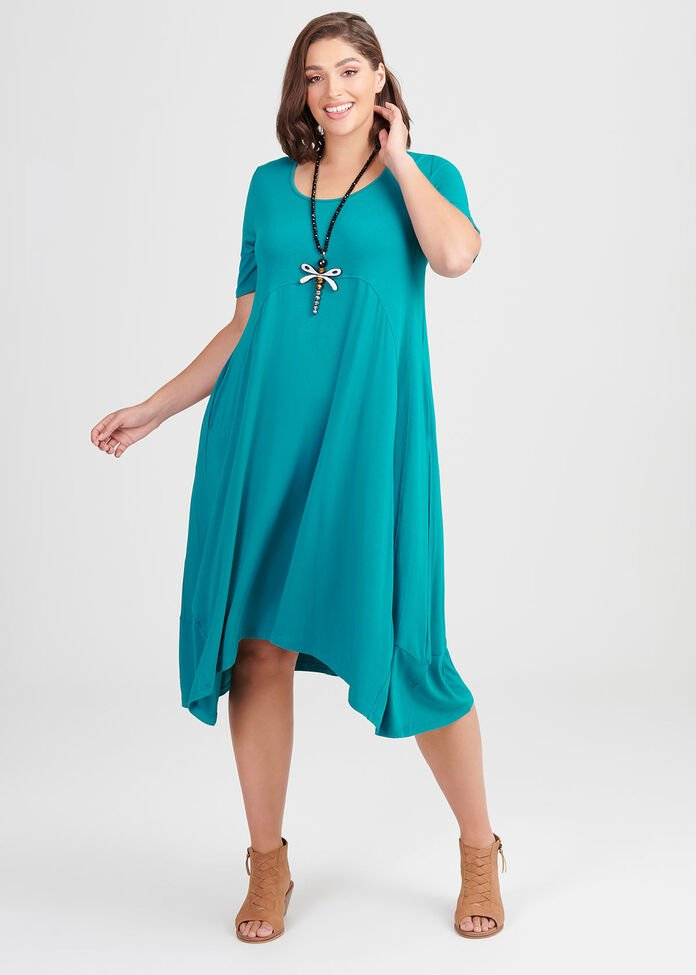 Bamboo 9 To 5 Dress, , hi-res