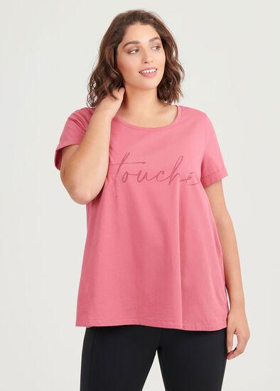 Organic Pink Active Top