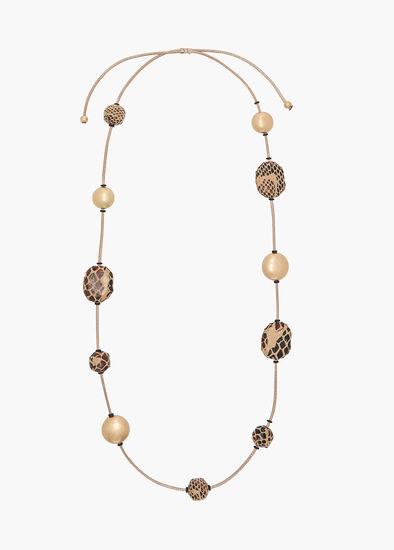 Serpenti Beaded Necklace