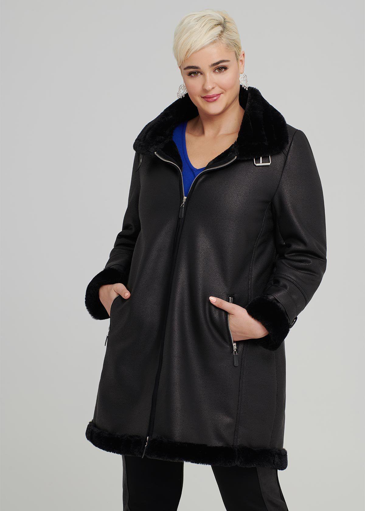 Shop 247 Comfort Apparel Women's Plus Size Front Twist Long