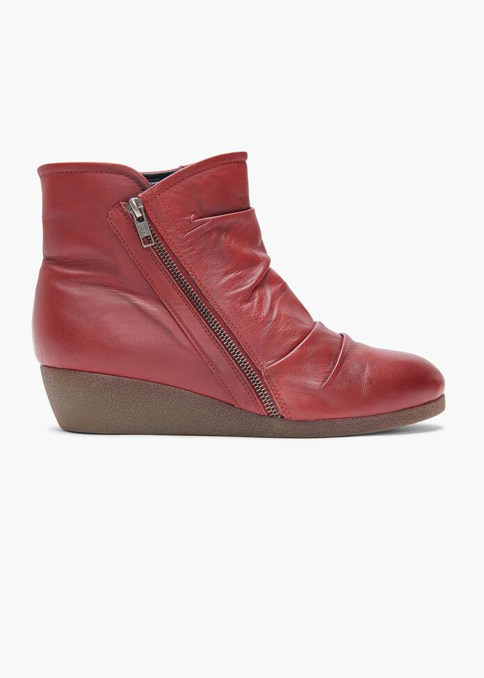 Jordan Ruched Ankle Boot, , hi-res