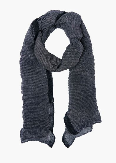 Shimmer Pleat Scarf