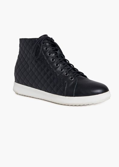 Laila Leather Sneaker Boot