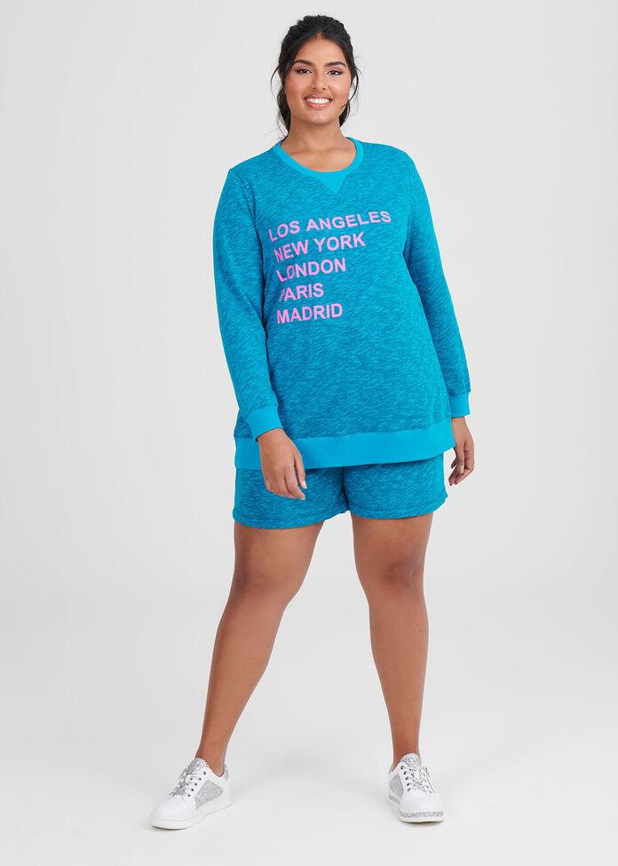 Caribbean Melange Sweat, , hi-res