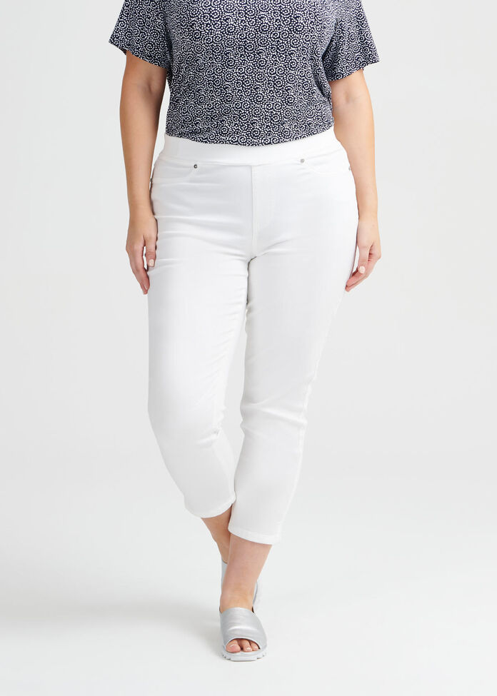 Casablanca Crop Jegging, , hi-res