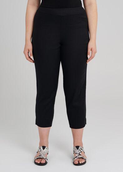 Linen Crop Pant