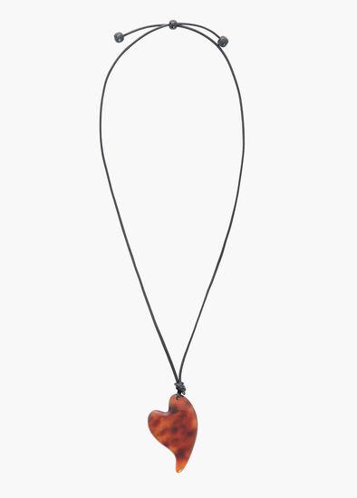 Tortoise Heart Necklace