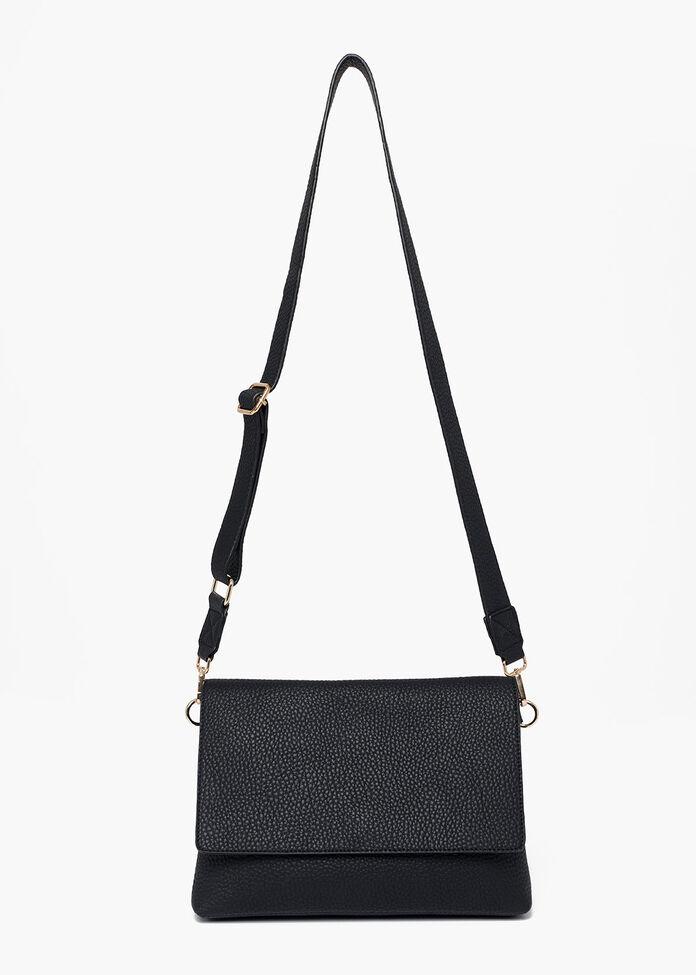 Bonnie Black Crossbody Bag, , hi-res