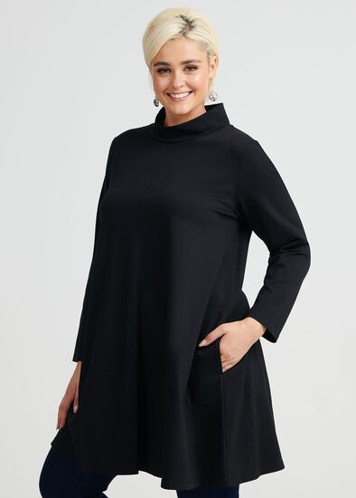 Coco Mock Neck Tunic