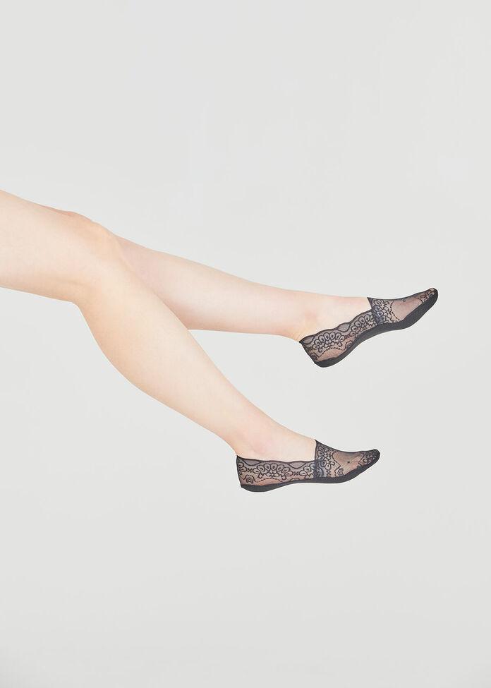 Set/3 Lace Socks, , hi-res