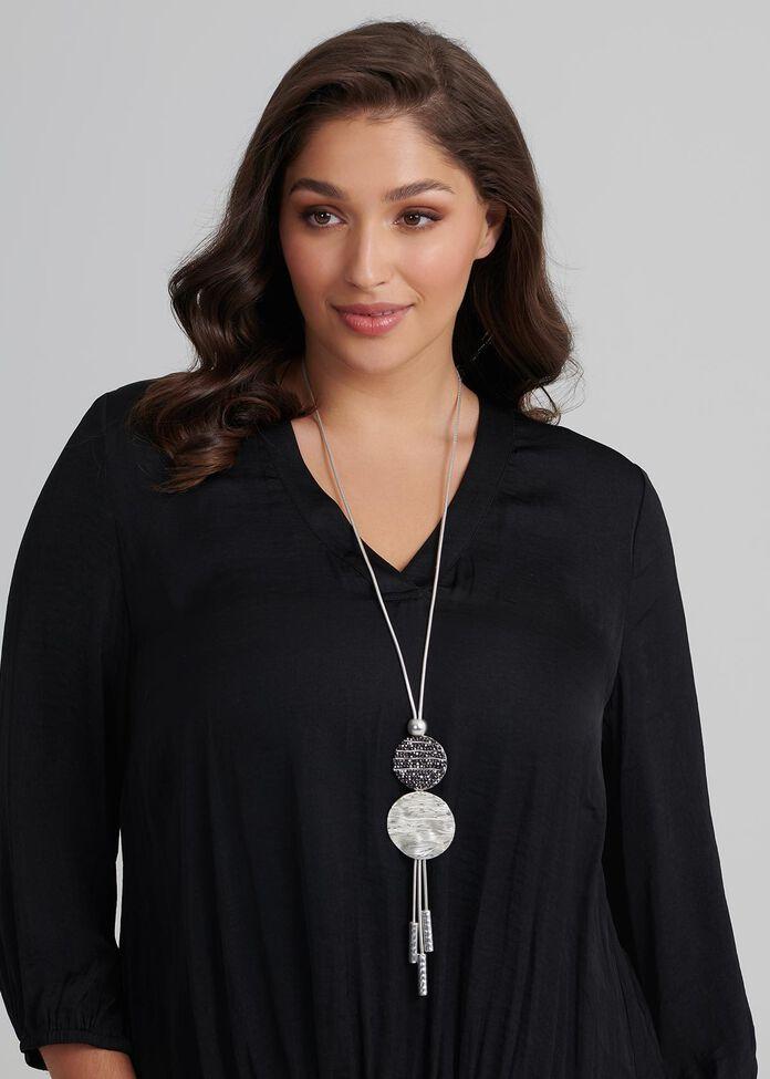 Double Eclipse Necklace, , hi-res