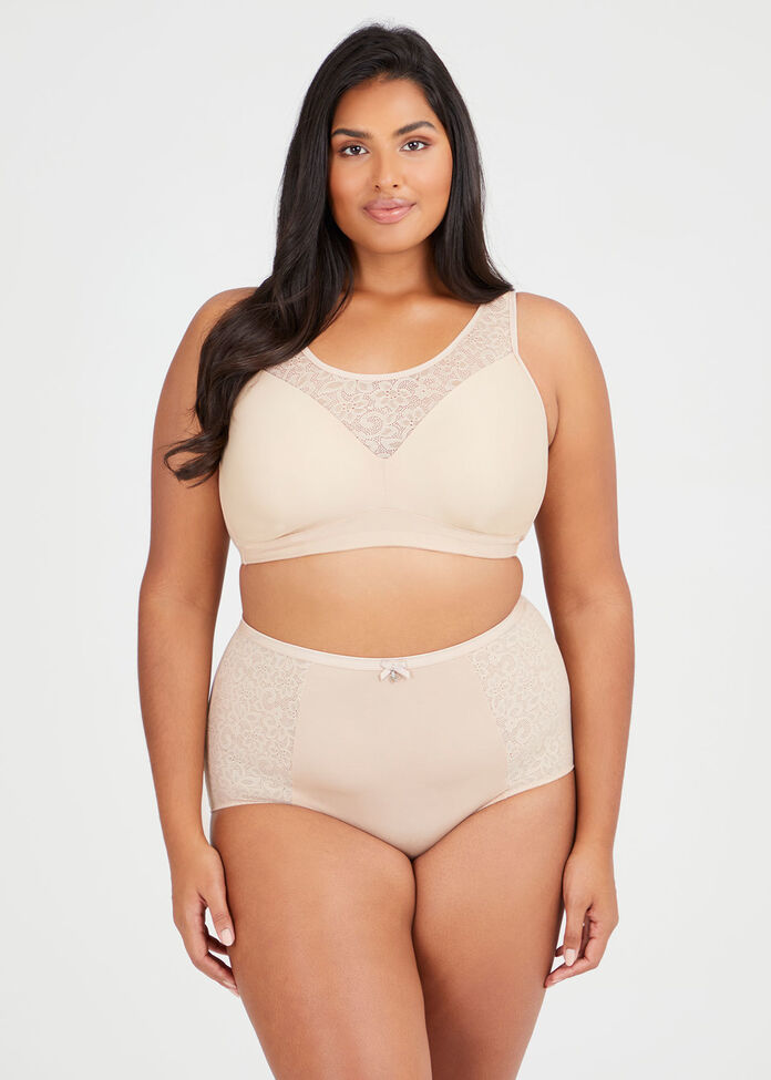 Wirefree Comfort Lace Bra Sizes 14-18, , hi-res