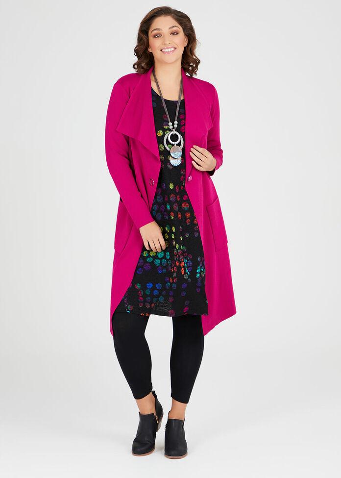 Spot On Jacquard Dress, , hi-res