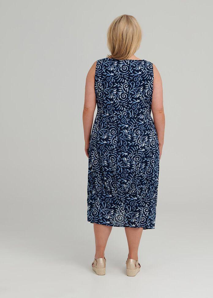 Petite Shibori Dress, , hi-res