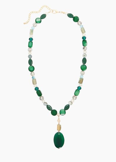 Aurora Stone Necklace