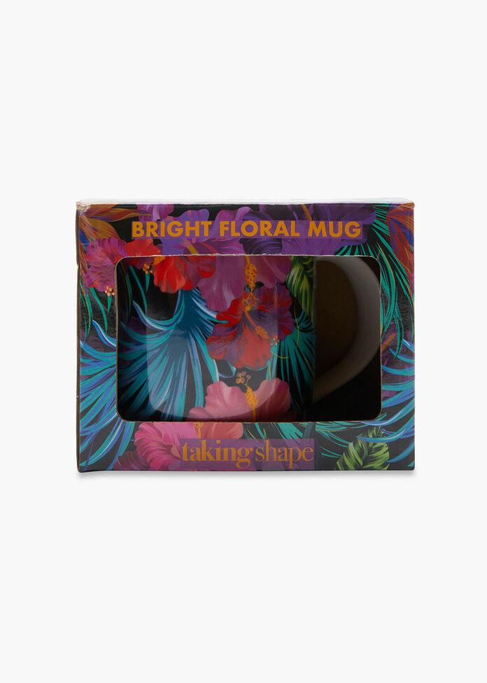 Bright Floral Mug, , hi-res