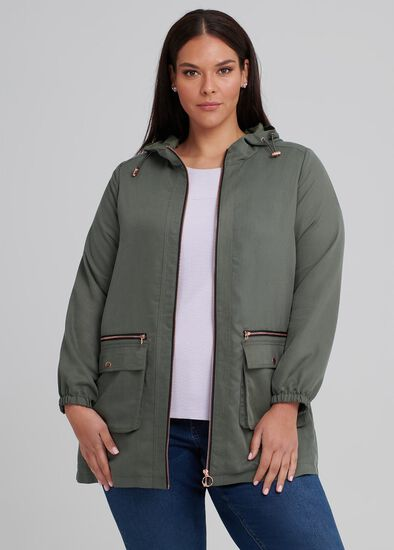Urban Chic Hooded Jacket