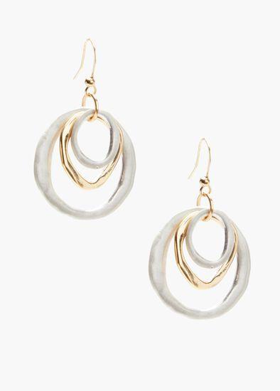 Multi Ring Earrings