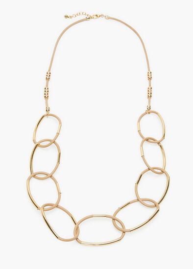 Neutral Links Necklace
