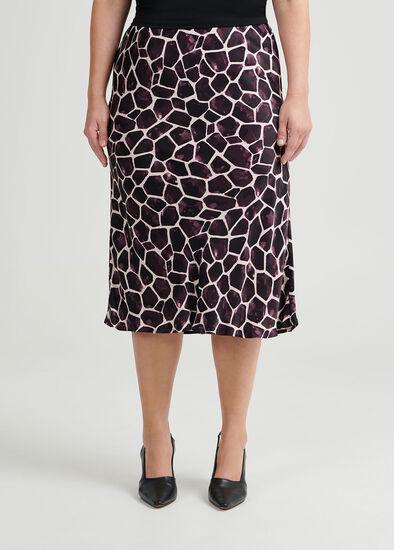 Chloe Giraffe Print Skirt