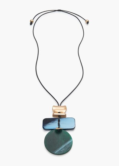Coastline Drop Necklace