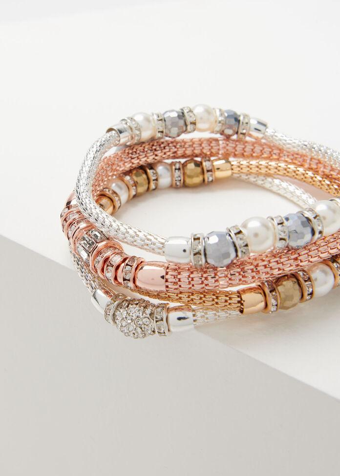 Glamour Bracelet Stack, , hi-res