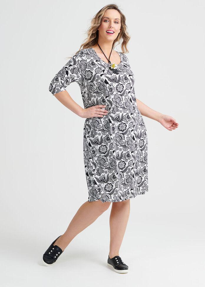 Wallpaper Dress, , hi-res