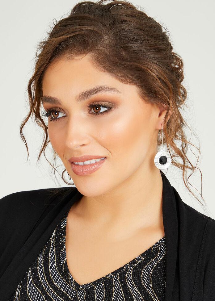Inner Circle Earrings, , hi-res