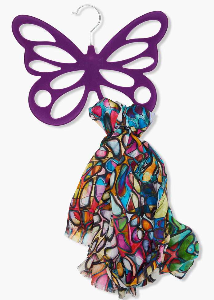 Butterfly Scarf Holder, , hi-res