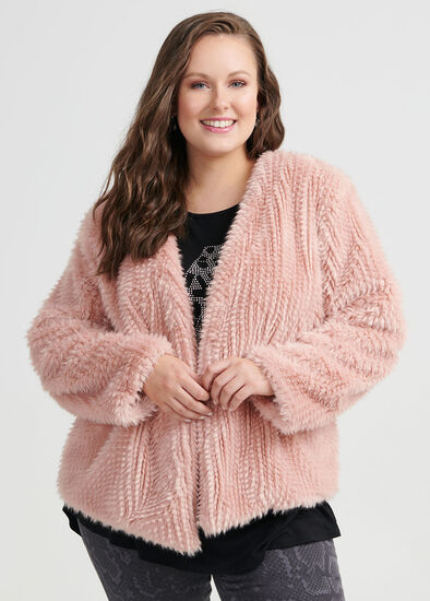 Dolce Faux Fur Jacket