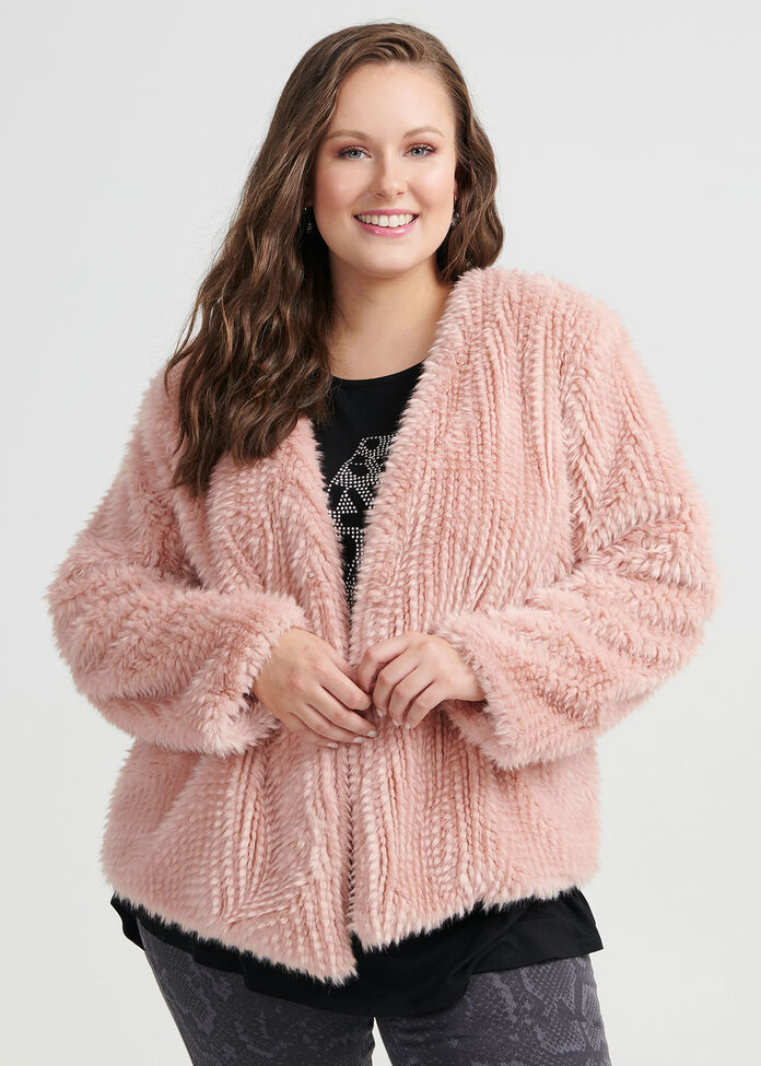 Dolce Faux Fur Jacket, , hi-res
