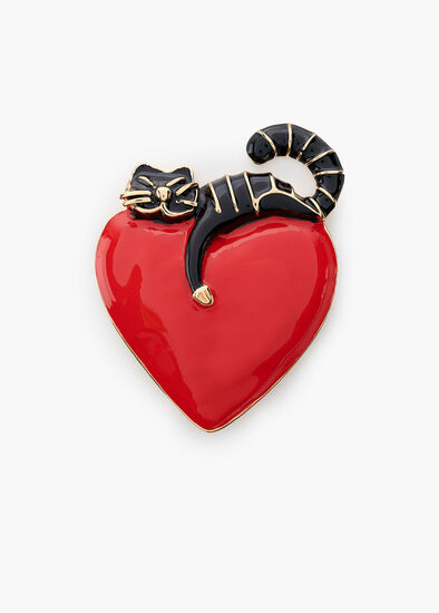 Love Cats Brooch