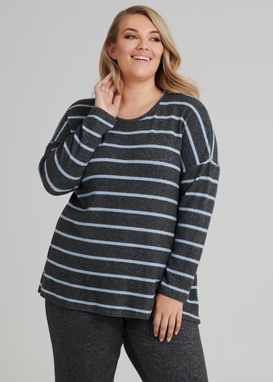 Serenity Stripe Top
