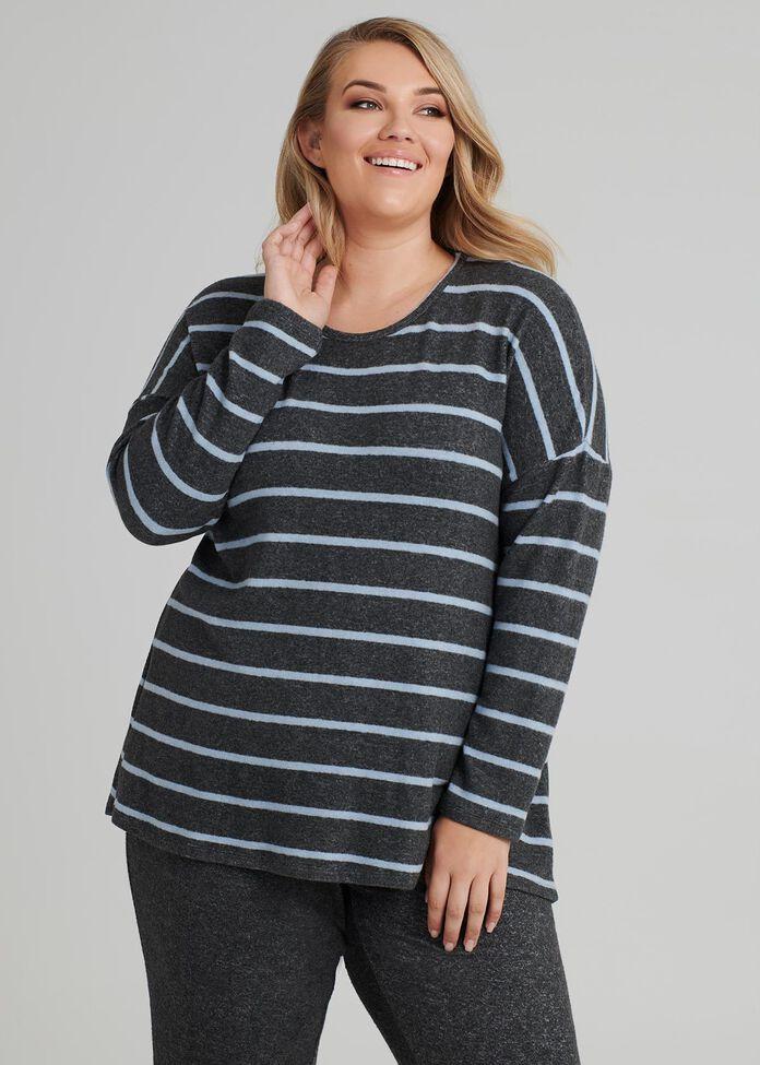 Serenity Stripe Top, , hi-res