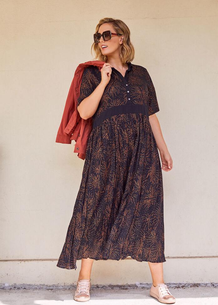 Cotton Sparks Maxi Dress, , hi-res