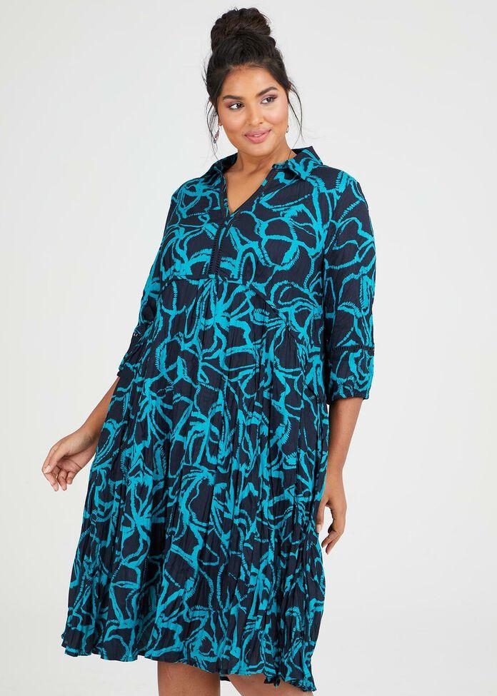 Cotton La Palma Dress, , hi-res