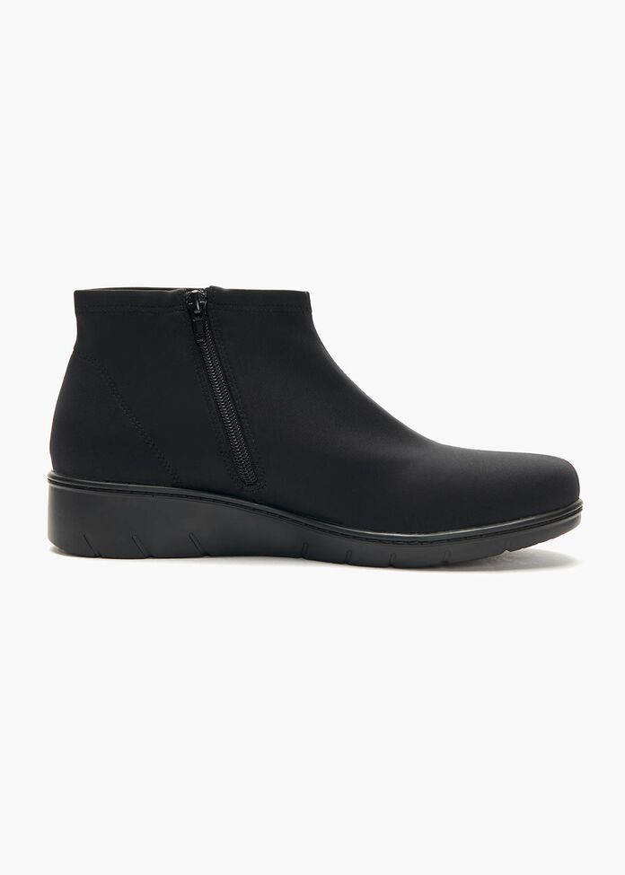 Ebony Stretch Ankle Boot, , hi-res