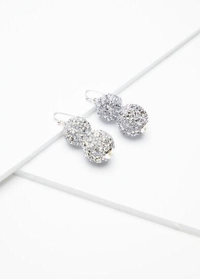 Diamante Ball Earrings