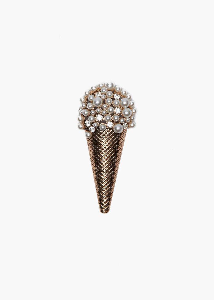 Ice Cream Brooch, , hi-res