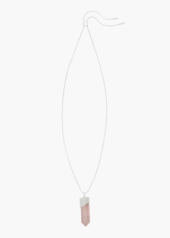 Lit Up Pendant Necklace, , hi-res