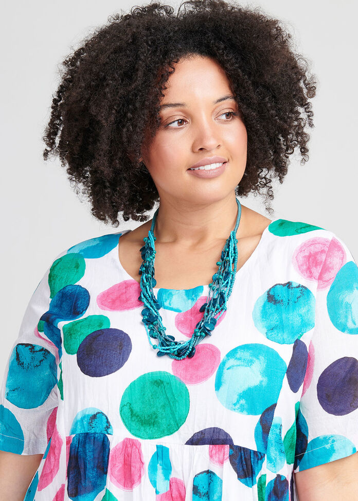 Turquoise Mix Necklace, , hi-res
