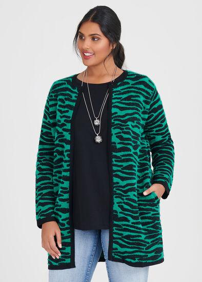 Zebra Cosy Cardigan