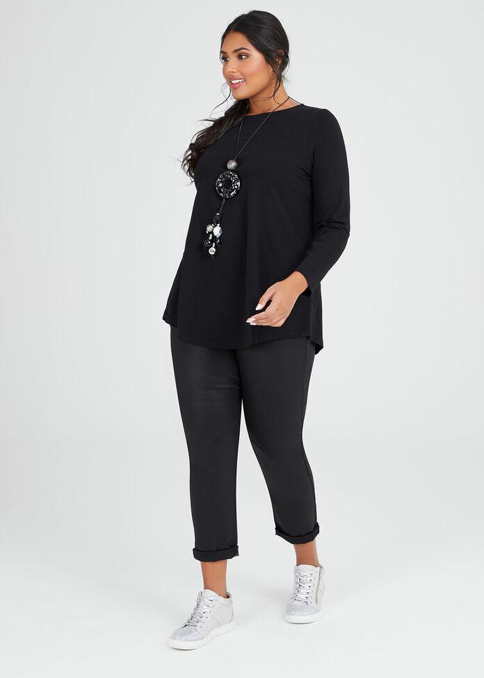 Organic Long Sleeve Top, , hi-res