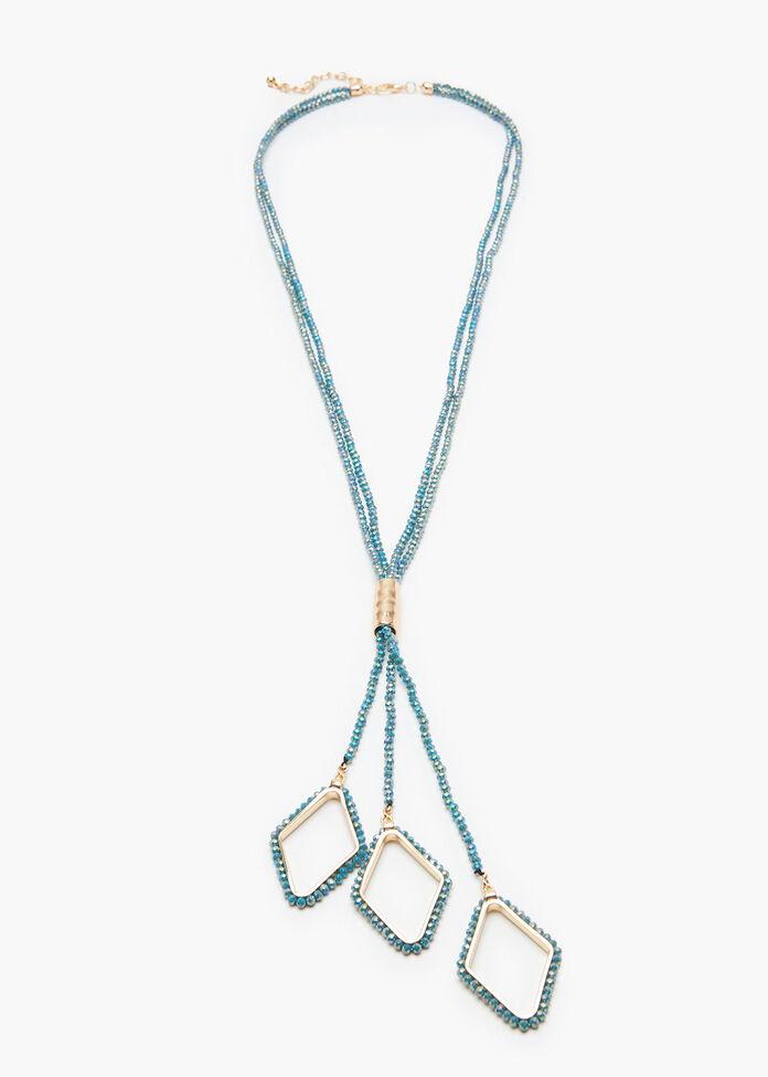 Diamond Drop Y Necklace, , hi-res