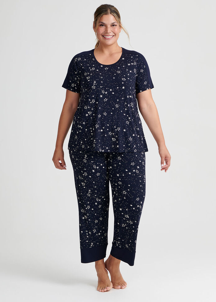 Starry Night Pj Top, , hi-res