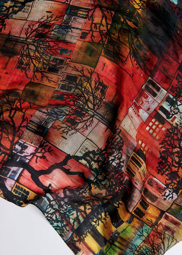 The Doors Silk Scarf, , hi-res