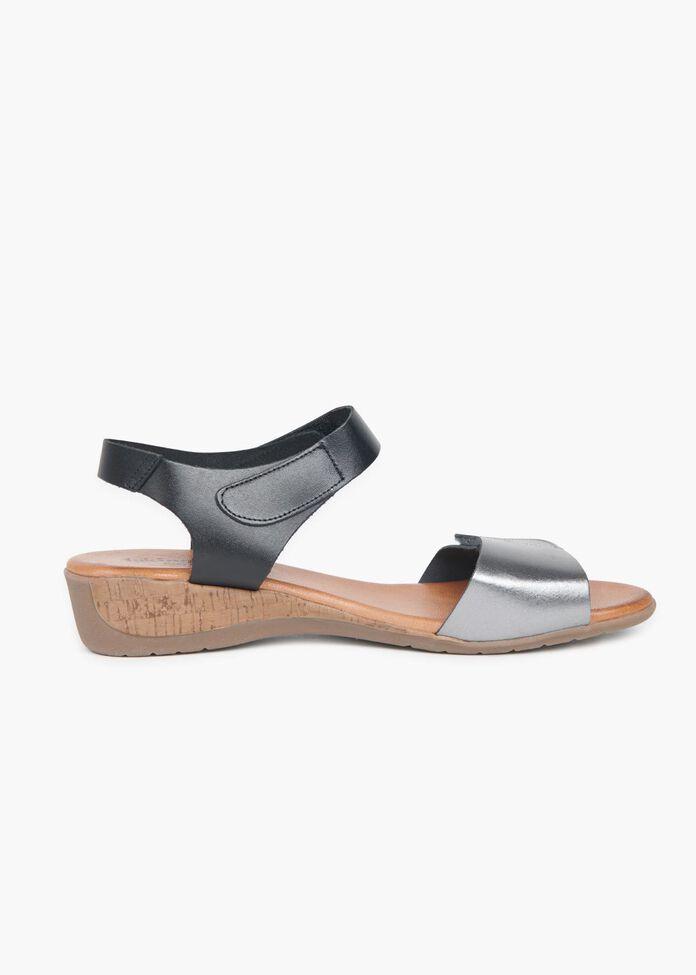 Barcelona Leather Sandal, , hi-res