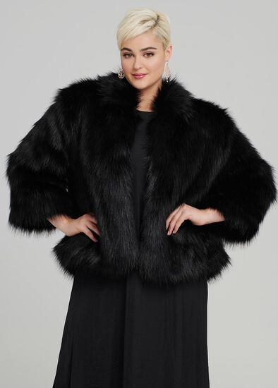 Iconic Faux Fur Jacket