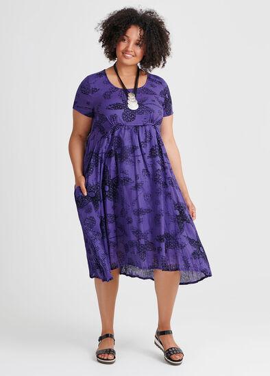 Cotton Floral Pop Dress